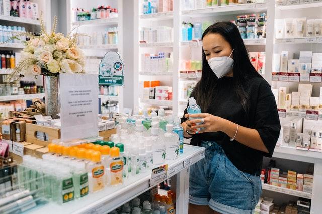 Akcesoria dostępne dla pacjenta w sklepie medycznym